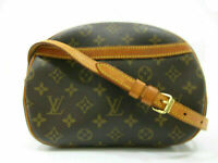 Authentic LOUIS VUITTON Monogram Blois M51221 Shoulder Bag PVC Leather 87215