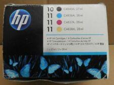 HP 11  Multipack Tinte BK C M Y  für InkJet 1000  DesignJet 70 Series  OVP B