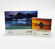 Lee Filters Foundation Holder Kit + 82mm Wide Adapter Ring. Brand New