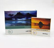 Lee Filters titular de la Fundación Kit + Anillo Adaptador 82mm de ancho. nuevo