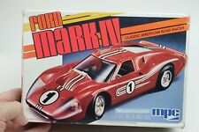 MPC Ford Mark IV Lemans 1967 Road racer 1/25 Appears Complete