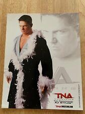 AJ STYLES 2010 TNA WRESTLING 8X10 PROMO PHOTO UN-SIGNED WWE ECW ROH AEW WWF NXT