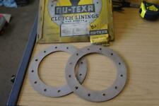 AUSTIN, COMMER, HILLMAN, MG, MORGAN + MORE - CLUTCH LININGS AND RIVETS