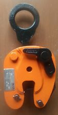 Plate lifting  clamp RENFROE model JA 1/2 ton,  grip 0- 3/4 inch, plate clamp.