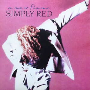 SIMPLY RED A NEW FLAME 1989 ALSDORF PRESS LP VINYL RECORD FULLY PLAY TESTED