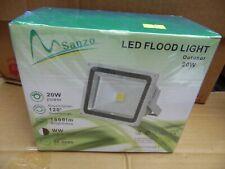 Sanzo Outdoor Flood Light 20 Watt 120 Degree Beam Angle 1800 Lumens 50K Hours
