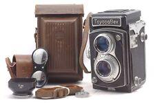 @ Ship in 24 Hrs! @ Rare! @ Tougodo Toyocaflex 6x6 Medium Format TLR Film Camera