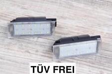 2x TOP LED Kennzeichenbeleuchtung Renault Megane II 2 Coupé EM0/1  / N06