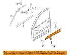 VW VOLKSWAGEN OEM 09-16 Tiguan Front Door-Lower Molding Trim Left 5N0854939A9B9