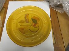 """Cheese Fromaggio Kase Queso , Plate , 14"""" X 14"""" X 1 1/4"""""""