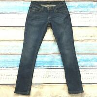 Levis 524 Womens Jeans size 5 Too Superlow Dark Wash Slim Skinny Cotton Stretch