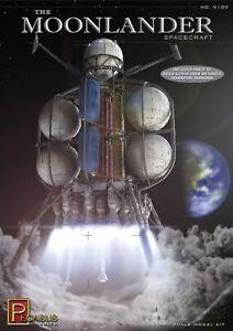 Pegasus 9109 / The Moonlander Spacecraft 1/350 Scale Model Hobby Kit - T48 Post