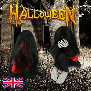 Halloween Haunted House Yard Ghost Kids Realistic Trembling Crying Decor Props