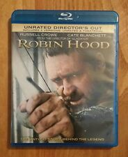 Robin Hood (2010) Like New Blu-ray + DVD UNRATED DIRECTOR'S CUT, Russell Crowe