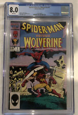 Spider-Man Vs. Wolverine #1 - 8.0 CGC Graded