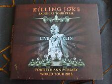 Slip CD Double: Killing Joke : Laugh At Your Peril Huxleys Neue Welt Berlin 2018