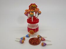 1 12 Scale Chupa Chups Lollipop Holder Dolls House Miniature Sweet Accessory