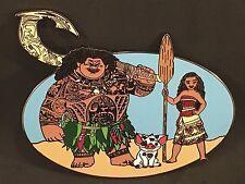 Moana Disney Fantasy Jumbo Trading Pin Maui Pua LE 50