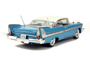 1958 PLYMOUTH FURY LIGHT BLUE 1:18 SCALE BY MOTORMAX 73115