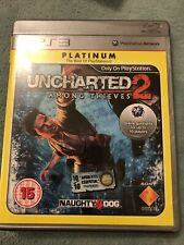 Uncharted 2: Among Thieves - Platinum Edition (PS3), Good PlayStation 3,Sony PS3