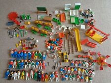 vintage playmobil play ground hospital school figures x 61 assorted pieces