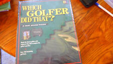 Which Golfer Did That?  252 Piece Jigsaw Puzzle Sealed 1995