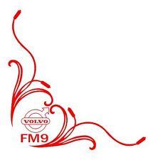 VOLVO FM9 Corner HGV Window Stickers Decals x 2