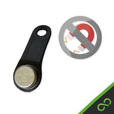 Black GENUINE non-magnetic iButton Dallas Key fob - tills/EPOS/Cash registers
