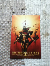 Electronic Saviors Industrial Music To Cure Cancer Metropolis Records Postcard