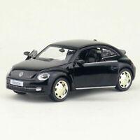 1:36 VW Beetle 2012 Model Car Diecast Toy Vehicle Pull Back Black Kids Gift