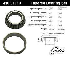 Centric Parts 410.91013E Front Inner Bearing Set