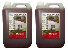 2 X 5 Litre Relancer HEAVY DUTY MARQUEE / TENT / INFLATABLE / PVC CLEANER