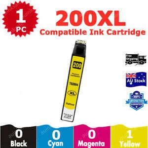 1x Compatible Ink Cartridge 200XL 200 XL Magenta For Epson XP200 XP300 XP400