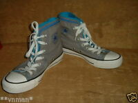 Converse all star mens/womens boys girl unisex multi tongue high top trainers 3