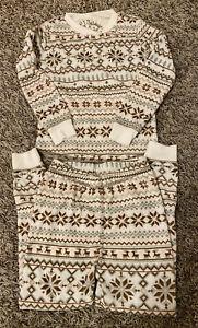 NEW PJ Salvage Kids Fair Isle Snug Fit 2-Piece Pajama Set Sizes 2T 4T 4 6 12-14