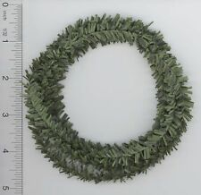 Dollhouse Miniature 4 Feet of Green Balsam Garland or Roping