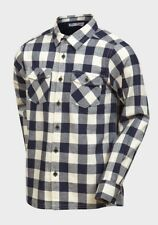 NEW Minoti Boys Large Blue Check Cotton Shirt 100% Cotton  - Age 10-11 Years