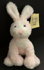 NWT Ganz Heritage Collection Pink Soft Spot Plush Bunny Rabbit - HE5030