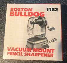 Vintage Boston Bulldog 1182 Plastic Pencil Sharpener – Boxed/used