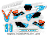 NitroMX Graphic Kit for KTM SX 125 250 SXF 450 2003 2004 Motocross MX Decals
