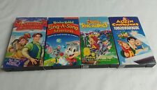 Sing Along Lot Of 4- Alvin and the Chipmunks, Reader Rabbit, Anastasia