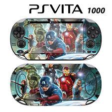 Vinyl Decal Skin Sticker for Sony PS Vita PSV 1000 Avengers 2