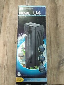 Fluval U4 Underwater Filter, Freshwater and Saltwater Aquarium Filter, A480