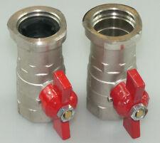"""ISO-T Pumpen Kugelhahn-Set 1/"""" komplett Set ISO T Pumpenanschlussgruppe"""
