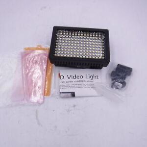 ULTIMAXX 160 LED Video Light Lamp Panel Dimmable for DSLR Camera DV Camcorder