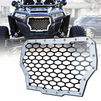 Silver 304 Stainless Steel Mesh Grille for 2017-2018 Polaris RZR 1000 XP Turbo