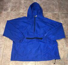 Woolrich Mens NYLON 1/2 Zip Rain Coat Size XL