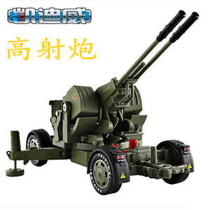 1:35 Alloy Model Mortar Tank Cannon Military Air Defense Missile Launch Vehicle
