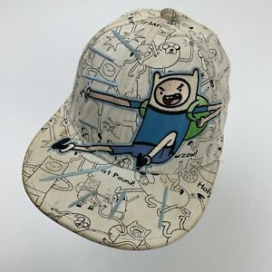 Adventure Time Finn Cartoon Network Ball Cap Hat Youth Fitted One Size Baseball