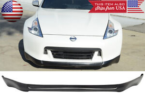 Lower Front Bumper Lip Chin Spoiler ING Style Poly Urethane Fit 09-12 370Z Z34